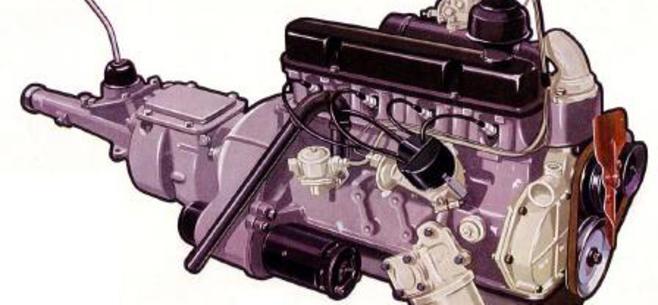 Ford engine restoration